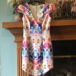 Xenia boutique floral dress